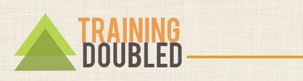 staff training doubled